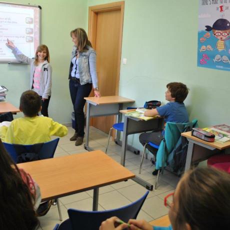 Μάθηση αγγλικών με τον διαδραστικό πίνακα