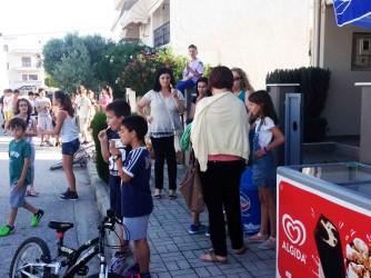 Πάρα πολλά τα παιδιά στη γιορτή του φροντιστηρίου Ελένη Λίτσιου!