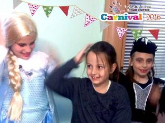 Τα καρναβάλια μας στη γιορτή, στο φροντιστήριο Λίτσιου Ελένη Ξένες Γλώσσες