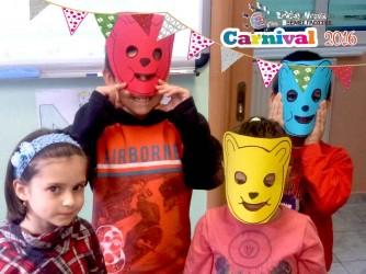 Τα καρναβάλια μας στην όμορφη γιορτή μας του φροντιστηρίου Λίτσιου Ελένη Ξένες Γλώσσες